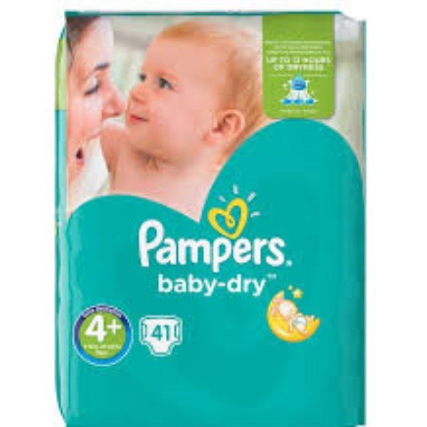 Pampers Baby Dry 4 Maxi X41
